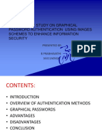 Graphical Password Authentication Ppt