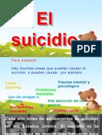 Suicidio Causas y Consecuencias