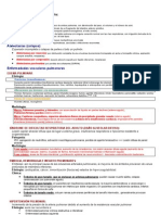 Patología del aparato respiratorio
