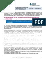 9. INDICAC PARA LA ORG DE LOS ENC PRESENC 2014 Y SEMINARIO INTENSIVO 1 definitiva