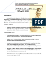 Bases Cueca Comunal Julio 2019
