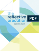 The Reflective Practioner Guidance Single Page