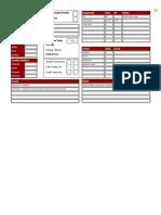 BoL Sheet - Fillable