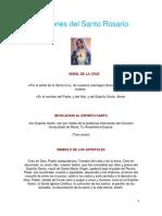 Oraciones Del Santo Rosario