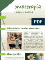 Aromaterapia - Manzanilla