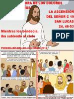 HOJITA EVANGELIO NIÑOS LA ASCENSIÓN DEL SEÑOR C 19 SERIE