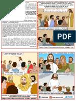 HOJITA EVANGELIO NIÑOS LA ASCENSIÓN DEL SEÑOR C 19 COLOR