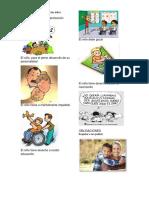 Obligaciones y Derechos de Los Niños