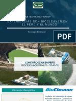 Experiencias Biocleaner en El Peru y El Mundo