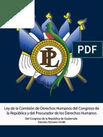 1513118849_Ley de La Comisión de Derechos Humanos Del Congreso de La República y