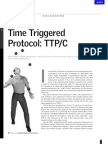 Time Triggered Protocol TTP C