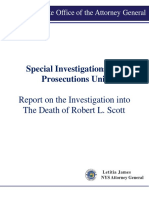 NY AG Report on Scott Death, Body Cams, 5-31-19