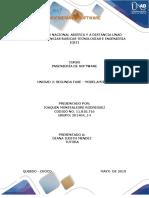 UNIDAD 2 FASE 2 - Modelamiento