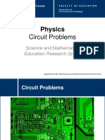 Physics Circuits problems