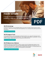 Test Preparation Made Simple A4 Brochure Email Web