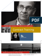 Contract Training Brochure