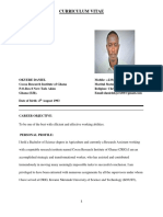 Mr.daniel Okyere's New Cv