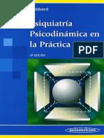 Psiquiatría Psicodinámica en La Práctica Clínica. Gabbard