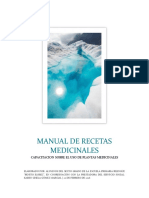 Manual de Recetas Medicinales