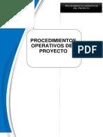 Procedimientos Operativos Del Proyecto-ESTABILIDAD de TALUD