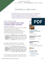 Matemática y Algo Más..2
