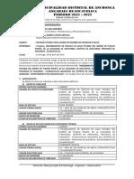 INFORME N° 003 - CAMBIO DE NOMBRE AGUA  ANCHONGA