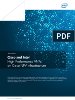 Cisco and Intel High-Performance VNFs on Cisco NFV Infrastructure