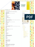 Cocina Latina _ Guia Nutricional Dr. Sebi (Español)