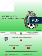 Reporte   Selección Mexicana U-20