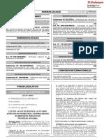 Ley 30953 que modifica la Ley 28687 a efectos de posibilitar la Formalización de Mercados Públicos de Propiedad Informal