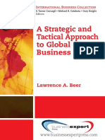 A Strategic and Tactical Approach to Global Business