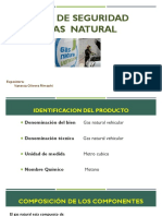 Hoja de Seguridad - Gas Natural
