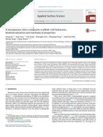 A Mesoporous Silica Composite Scaffold- Cell Behaviors-etc