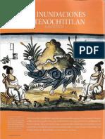 Las inundaciones de Tenochtitlan (Desastres en Mexico - Arqueologia Mexicana_149)