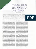 Los desastres en perspectiva historica (Desastres en Mexico - Arqueologia Mexicana_149)