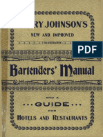 Harry Johnson s Bartender s Manual-USA