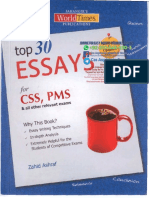 Important Essays for CSS on 30 Important Subjects.pdf