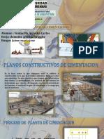 Planos Constructivos de Cimentacion