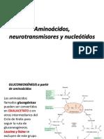 Aminoácidos, Neurotransmisores y Nucleótidos