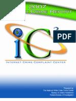 Internet Crime Report 2007