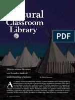 a cultural classroom library