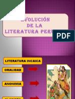 Evolución de la Poesía en el Perú