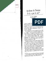 Georgin, Porge, Au-Desus l'Horizon Il n'y a Pas Le Ciel, Littoral 29, 137-155