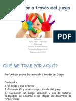 Estimulación a Través Del Juego Freire