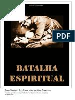 Batalha Espiritual. Augustus Nicodemus Lopes - PDF