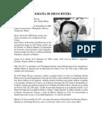 Biografía de Diego Rivera