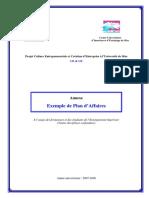 3_05_Annexe_Exemple Plan Affaires - Quebec