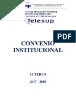MODELO DE CONVENIO INTERINSTITUCIONAL