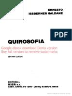 Tratado de Quirosofía - Ernesto Issberner Haldane - Google Libros