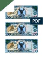 Dollar Bill Hundred Sheet